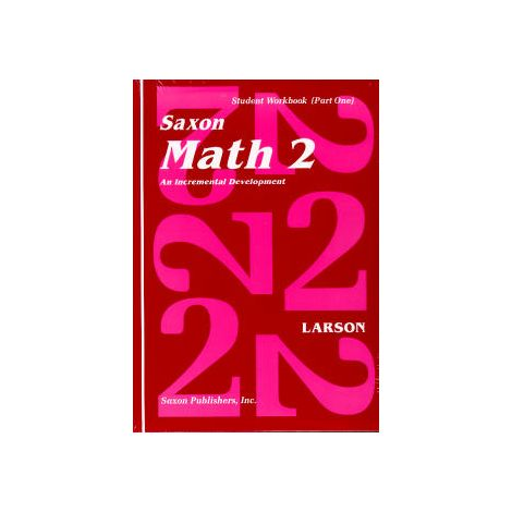 Saxon Math 2 Student Workbook and Fact Cards, 1st Ed.