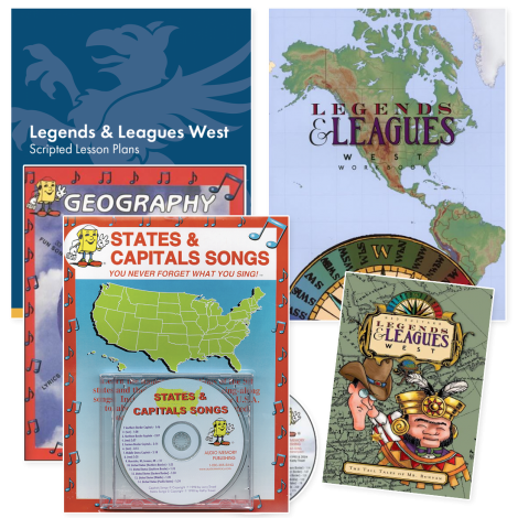 Geography - West - Live Course Kit