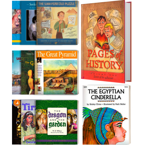 Literature Kit Level 1 for Old Testament & Ancient Egypt SP available from Veritas Press.