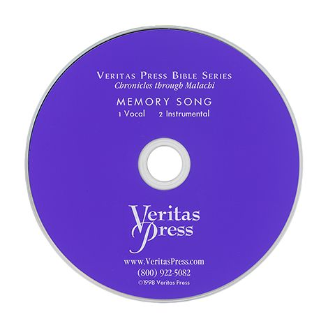 Chronicles to Malachi Memory Song CD