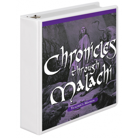 Chronicles to Malachi Teacher's Manual (School Version)