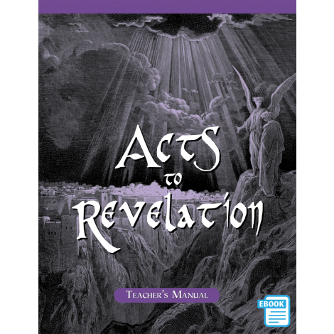 Acts to Revelation Teacher's Manual (eBook)