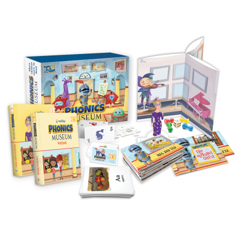 Phonics Museum Kindergarten Kit 2nd Ed