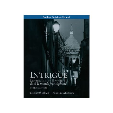 Intrigue Student Activity Manual
