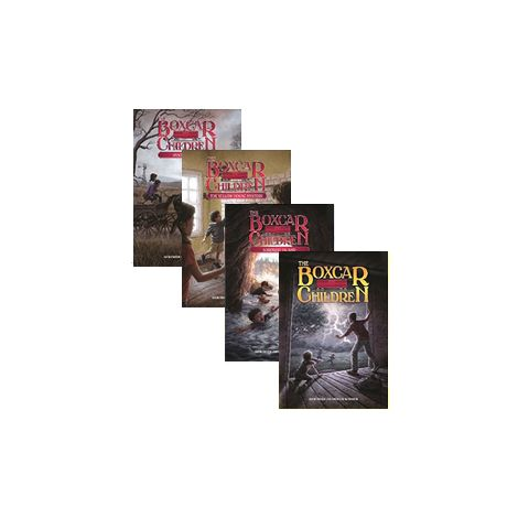 """Collection of the First Four """"Boxcar Children"""" Books"""