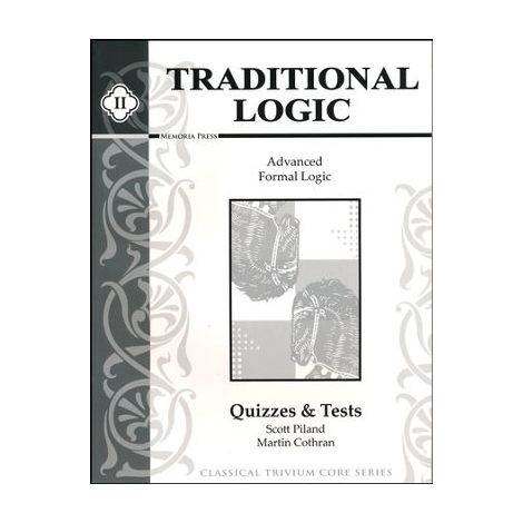 Traditional Logic 2 Quizzes and Tests
