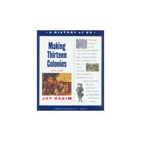 A History of US: Book 2: Making Thirteen Colonies