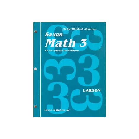 Saxon 3 Home Study Kit