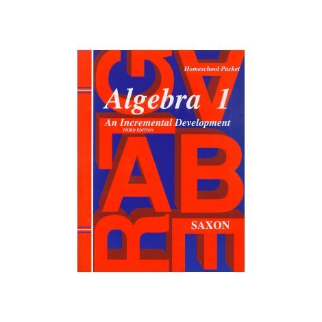 Saxon Algebra 1 Tests and Answer Key, 3rd Ed.