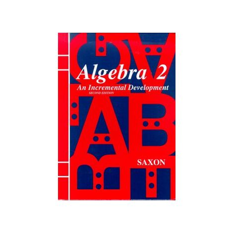 Algebra II Saxon Home Study Kit 3rd Edition
