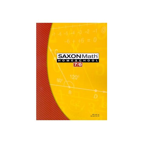 Saxon Math 76 Homeschool Student Text, 4th Ed.