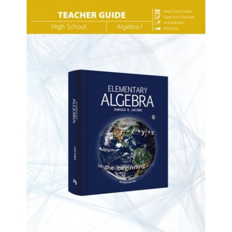 Elementary Algebra Teacher's Guide