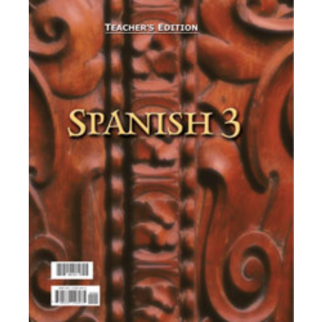 Spanish 3 Teacher's Edition