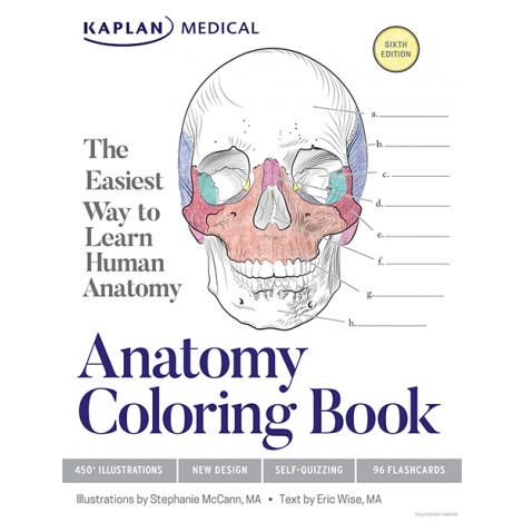 Front cover of the Anatomy Coloring Book | Veritas Press