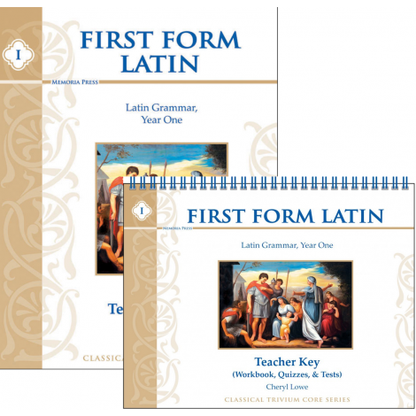 First Form Latin Teacher Kit