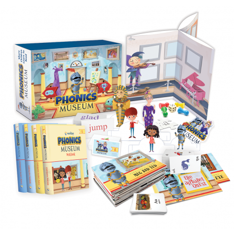 Phonics Museum Kindergarten Kit