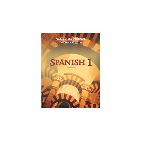 BJU Spanish I Activity Manual Teacher's Edition (2nd ed.)