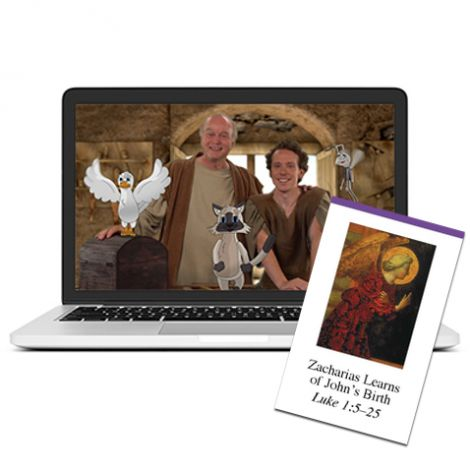 Gospels - Self-Paced Course & Cards Combo