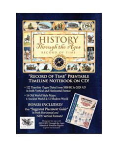 History Through the Ages: Record of Time & Suggested Placement Guide Combo on CD-ROM